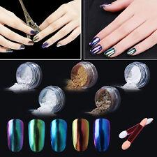 Elite99 Miroir Effet Vernis à ongles Chrome Poudre Bâton Eponge Coloré LED UV