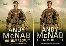5 X ANDY McNAB THE NEW RECRUIT POSTCARDS