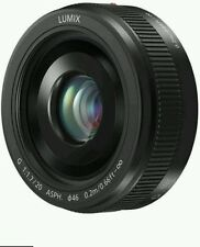 PANASONIC LUMIX G 20MM F1.7 II ASPH LENS BLACK H-H020A-K JAPAN DOMESTIC JDM