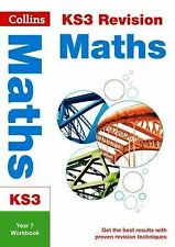Collins KS3 Revision and Practice - Maths Year 7 by Collins Publishers Staff...