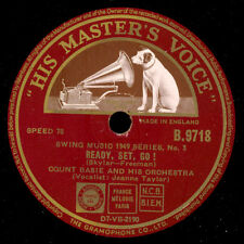 COUNT BASIE & HIS ORCH.  Ready, set, go / Seventh Avenue Express  78rpm  X910