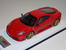 1/18 Looksmart MR Ferrari F430 Scuderia Rosso Corsa Red Leather 25 pcs