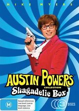 Austin Powers MultiPack (DVD, 2009, 3-Disc Set) R4 PAL - NEW SEALED
