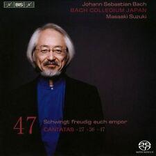 NEW Bach: Cantatas, Vol. 47 Super Audio Hybrid Cd by Masamitsu... CD (CD)