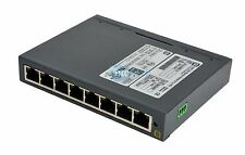 Harting eCon 3080-a Ethernet Switch 8 Port 100/Bt W/ Mounting Tab Installed.