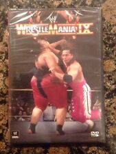 WWF - WrestleMania IX 9 (DVD, 2013)NEW- Authentic US Release