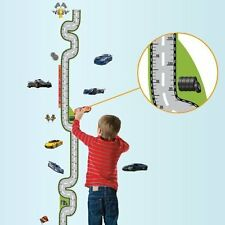 Domire Car Racing Growth Chart Height Chart Wall Decal Decor Sticker Removable