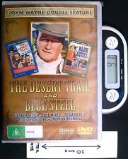 The Desert Trail and Blue Steel - DVD (New, Sealed)