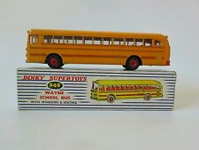 Dinky 350 Wayne School Bus with RED DETAILING England. BOXED