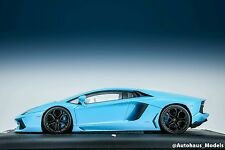 1:18 MR Collection Lamborghini Aventador LP-700 Baby Blue