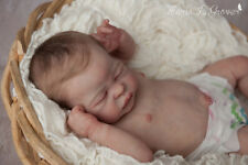 """Solid Silicone Baby Girl """"QUINLYNN"""" Laura Lee Eagles LE 7/30 reborn art doll"""