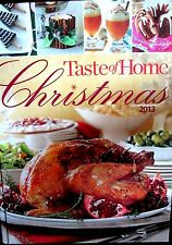 Taste of Home Christmas new hardcover cookbook delicious recipes