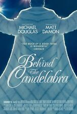 Behind The Candelabra movie poster Liberace, Michael Douglas - 11.5 x 17 inches