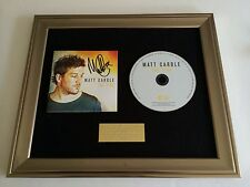 PERSONALLY SIGNED/AUTOGRAPHED MATT CARDLE - FIRES CD PRESENTATION. X FACTOR