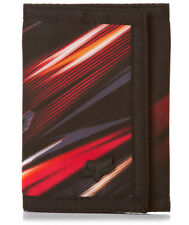 FOX RACING MEN'S OPTIMUS WALLET cool black red orange velcro purse motocross NEW