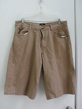 Red Ape men's brown jeans shorts size 40