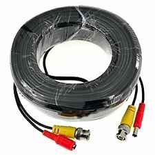 ANNKE Extend Cable 1x 60ft BNC Video Power Cable for Security Camera System Cord