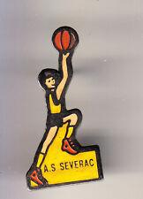 RARE PINS PIN'S .. SPORT BASKET BALL CLUB TEAM A.S SEVERAC 44 ~CK