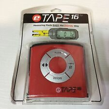 (Closeout) eTape ET16.75-DB-RP 16' Electronic Digital Measuring Tape Dual Band