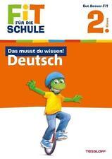 Fit für die Schule: Das musst du wissen! Deutsch 2. Klasse von Sonja Reicher...