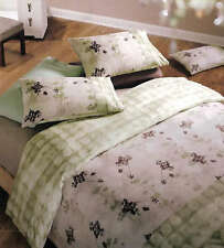 Aussino SWAY Khaki Latte Double Size Quilt Cover Set 260TC COTTON