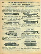 1934 ADVERTISEMENT Marble's Hunting Knife Knives Woodcraft Ideal Expert Sport
