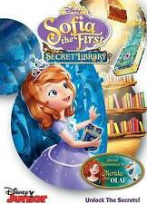 Sofia the First: The Secret Library DVD Disney Junior - Ships in 12 hours!!!