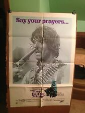 THEY CALL ME TRINITY-TERENCE HILL,BUD SPENSER-1971-ORIGINAL MOVIE POSTER-