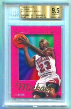 1995-96 HOOPS SKYVIEW MICHAEL JORDAN BGS 9.5 GEM MINT STATED ODDS 1:480 RARE