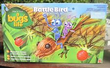 RARE 1998 Disney -  Pixar A Bug's Life PVC Figure Battle Bird W/2 Battle Ant MIB
