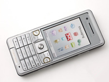 Sony Ericsson C510 Silver 3G Network Unlocked Cell Phone free shipping