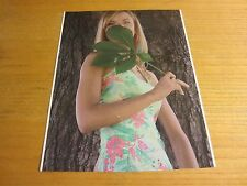 Darling Denise Model Autographed Signed 8.25X10.5 Photograph