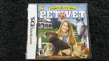 PAWS & CLAWS PET VET NINTENDO DS NEW SEALED FAST POST ( simulation game )