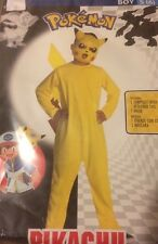 NEW Pokemon Pikachu Costume Boy S(6) Free S/H