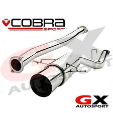 SC03z Cobra Subaru Impreza WRX STI 93-00 Race Type Cat Back Exhaust Non Res 3""