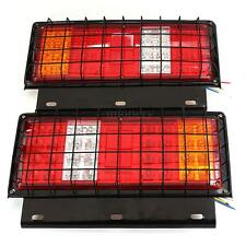 12V 32 LED Stop Rear Tail Indicator Reverse Lamp Light Trailer Truck Caravan Van