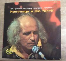33 tours Hommage à Léo Ferré par Michèle Arnaud, Eddie Constantine... 1972 EXC