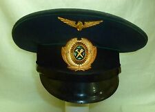 1983 Russian Soviet Railroad Railways Officer Uniform Cap Size 56 USSR