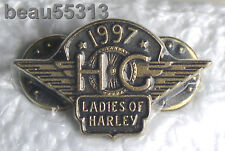 LADIES OF HARLEY DAVIDSON OWNERS GROUP HOG LOH 1997 PIN 97