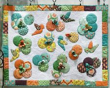 BIRDS AND BERRIES QUILT KIT -featuring Moda Cotton Fabrics -Cute Colorful & Easy