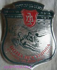 ETIQUETTE DE BAGAGE HOTEL BEN YEHUDA HAIFA - ISRAEL