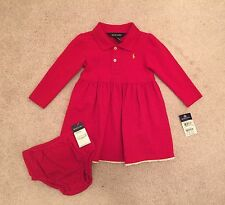 NWT Ralph Lauren Toddler Infant Baby Christmas Holiday Dress 18 Months