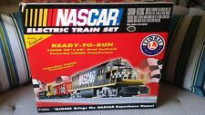 NEW Lionel NASCAR Train set -READ ON!