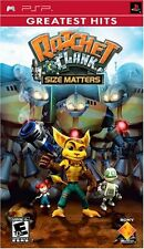 * Sony PSP NEW Sealed Game * RATCHET AND CLANK SIZE MATTERS * USA pack