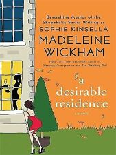 A Desirable Residence by Madeleine Wickham (2010, Hardcover, Large Type)