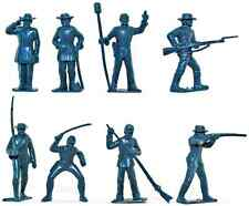 Marx Recast Warriors of the World-Type Civil War C.S.A. Infantry - 20 in 8 poses