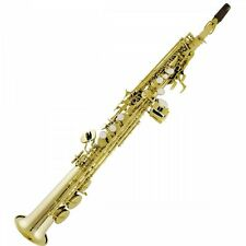 Bauhaus Walstein SSS-YD Deluxe Straight Soprano Saxophone Improved Action *NEW*