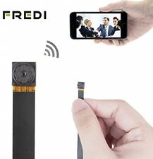 FREDI® HD Mini Super Small Portable Hidden Spy Camera P2P Wireless WiFi Video