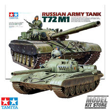 Russian Army Tank T72M1 Kit - 1/35 Tamiya Military Model Kit #35160