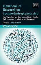 2014-03-31, Handbook of Research on Techno-Entrepreneurship, Second Edition: How